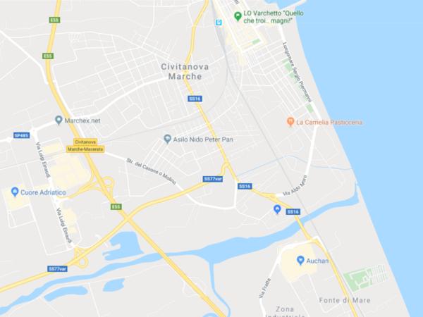 cartina civitanova marche